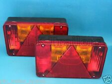 FREE P&P* 2 x Radex 5800 Rear Trailer Lights - Non Plug-in - Indespension  #TR