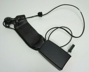 Genuine GM Vauxhall Zafira C Centre seat belt buckle (jet black) 13332237