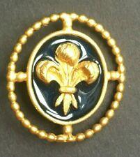Comus 1995 pin favor Mardi Gras krewe doubloon