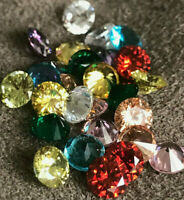 Cubic Zirconia AAAAA Loose Stones Wholesale  5mm Round  9 Colors   Best Quality