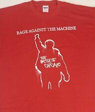 Vintage! Rage Against the Machine Battle of Chicago T - Shirt XL