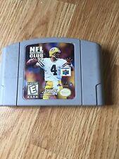 NFL Quarterback Club 99 Nintendo 64 N64 Game Cart Works NG1