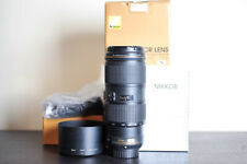 Nikon AF-S 70-200mm F/4 VR FX Telephoto Lens - US Model!