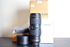 Nikon AF-S 70-200mm F/4 VR FX Telephoto Lens - US Model!