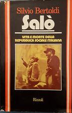 Salò Silvio Bertoldi Rizzoli 1976 I ed.