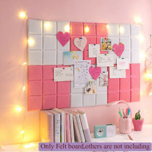 Felts Note Memo Schedule Letter Boards Photo Display Message Label Wall Decors