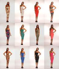 Knee Length Bandeau Stretch, Bodycon Dresses for Women