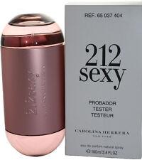 212 SEXY BY CAROLINA HERRERA TSTR  3.4/3.3 OZ EDP SPRAY  FOR WOMEN NEW NO BOX