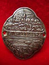 Osterode am Harz hiking medallion stocknagel G1962