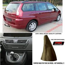 CITROEN c4 grand picasso cuir véritable noir gear gaitor boot