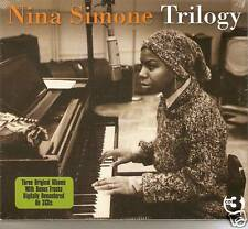 Nina Simone - Trilogy - 3 Original Albums (3CD 2010) NEW/SEALED