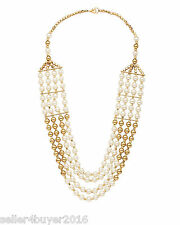 Cosmos Handicrafts Four Row Designer Pearl Necklace For Women