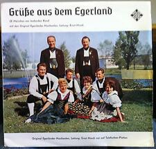 ERNST MOSCH grusse aus dem egerland LP Mint- BLE 14261 P Telefunken Hi-Fi