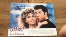 OLIVIA NEWTON-JOHN TRAVOLTA Grease Promotional POSTER 16x12 inches