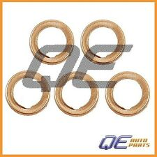 5 Oil Drain Plugs Crush Washers Gaskets Stone 1102601M02 For: Nissan Infiniti