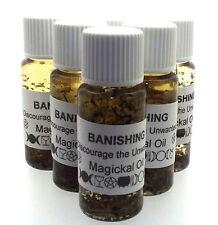 Banishing Magickal Herbal Anointing Incense 10ml Oil