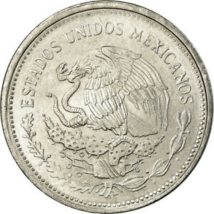 [#756497] Coin, Mexico, Peso, 1985, Mexico City, AU(55-58), Stainless Steel