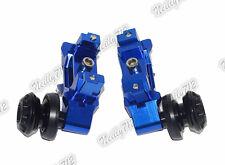 CNC Chain Adjusters with Swingarm Spools Slider Fit 2014-2016 YAMAHA MT-07 FZ-07