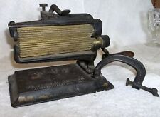 Antique Ribbon Roller Iron PENN by AM. Machine Co. Patd 1877, 1878 & 1880 NICE