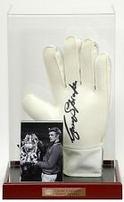 Garry Sprake Hand Signed Goalkeepers Glove LEEDS UNITED