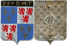 22° Division Militaire Territoriale, dos guilloché, Drago 2594 (B146)