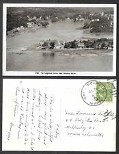 1950 Maine Real Photo Postcard - Cape Porpoise - Longsford House