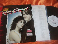 VISION QUEST OST LP , JAPAN ED OBI, MADONNA (GAMBLER, CRAZY FOR YOU ), FOREIGNER