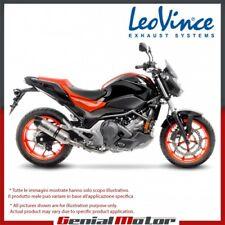 HONDA NC 750 S/X/DCT/ABS 2016 16 LEOVINCE AUSPUFF LV ONE EVO EDELSTAHL 14189E