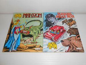 AKIM N°62 MAKRON + SUPPLEMENTO TERRORE SULLE NEVI EDIZIONI QUADRIFOGLIO 1981