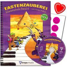 Tastenzauberei Band 4 - Klavierschule mit CD von Anike Trabon -  9789043134613