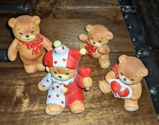 Vintage Lucy & Me Valentines Day Heart bears lot of 4 by Lucy Riggs
