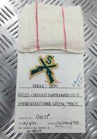 Authentique Vintage British Army Inspectorate De Magasins & Vêtements' Cartes