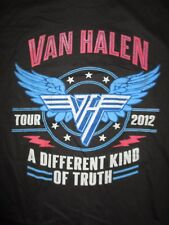 "2012 Van Halen ""A Different Kind of Truth"" Reunion Tour Concert (Youth Lg) Shirt"