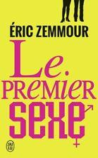 Le premier sexe — Eric Zemmour J'ai lu Documents - Livre n.u.m.é.r.i.q.u.e