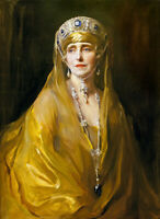 "oil painting handpainted on canvas ""Queen Marie of Romania"""