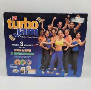 Complete New Open Box Beachbody Turbo Jam DVD 2006 Fitness Program ASOT Workout