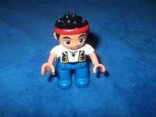 LEGO DUPLO PIRATENSCHIFF PIRAT FIGUR JAKE Stirnband aus 10512 10604
