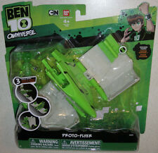 Ben 10 Proto Flyer with Tennyson GREEN action figure * Connects to ROOK vehicle
