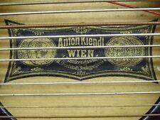 ZITHER VON ANTON KINDL  Wien