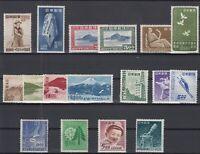 AK5336/ JAPAN – 1949 MINT SEMI MODERN LOT – CV 180 $