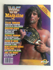 WWF Magazine December 1990 - *VGC*  - Texas Tornado - Survivor Series WWE 90 UK
