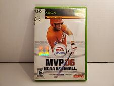MVP 06 ncaa baseball Xbox Good CIB