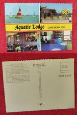 Vintage Australian Postcard. Aquatic Lodge, Lake Boga