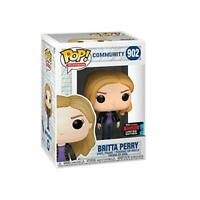 Funko Britta Perry NYCC 2019 Convention Limited Edition Exclusive POP! Community