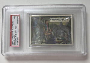 Topps Civil War News-Hanging the Spy-unopened Cello Pack-PSA-7-vintage 1962-NM