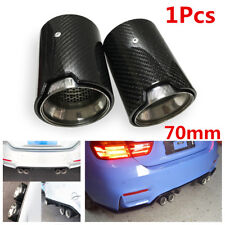 For M2 F87 M3 F80 M4 F82 F83 M5 F10 M6 F12 F13 X5M X6M Carbon Fiber Exhaust Tip