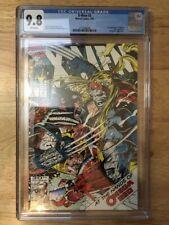 X-Men #5 - CGC 9.8 (NM/MT) - 1st Mavrick - Omega Red App - Jim Lee