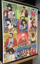 Super Junior Kpop Korean Pop Star Wall Scroll Poster Hang (56.5 x 74cm)