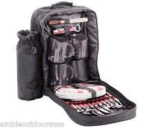 StanSport 4-person Picnic Set with Carry Pack  ..  New