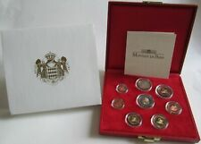 Monaco KMS Kursmünzensatz PP 2001